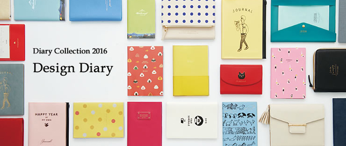 MARK'S DIARY COLLECTION 2016 SPRING