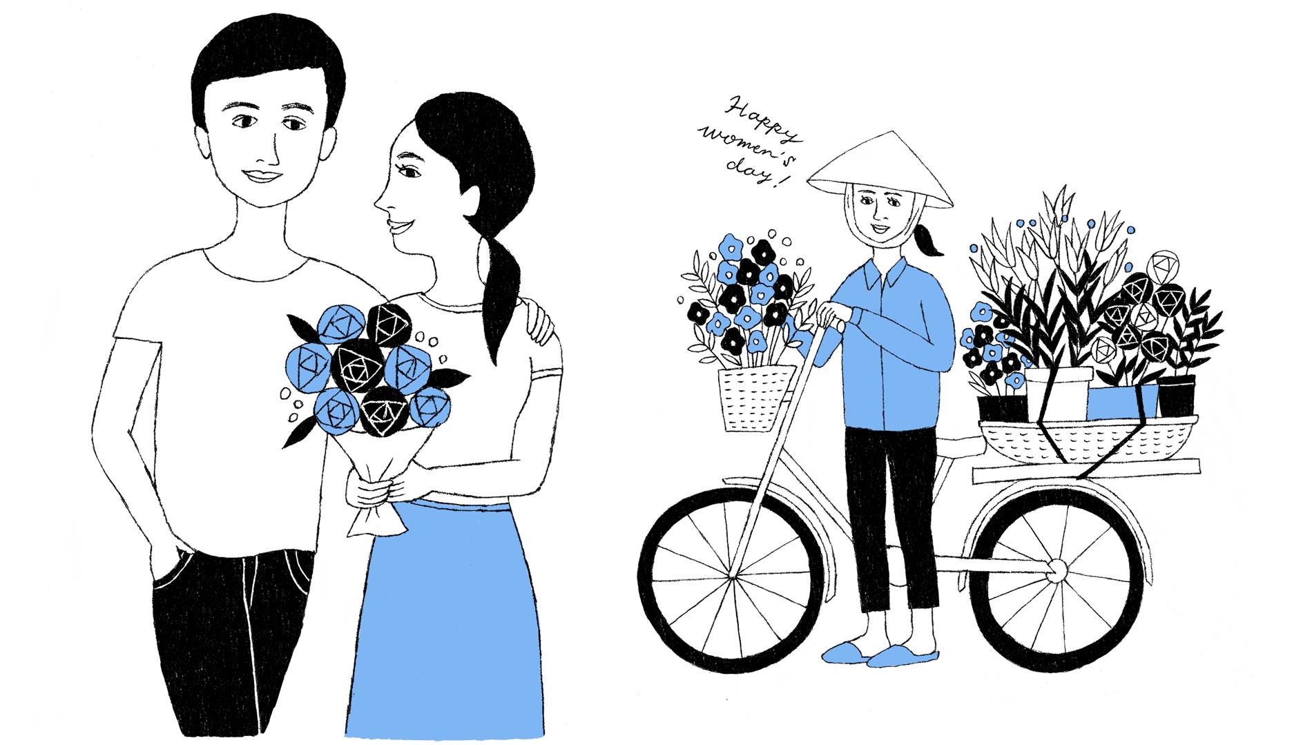 【ベトナム】せめて特別な日だけは、女性へ労いのギフトを